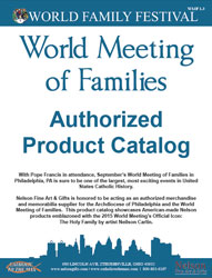 World Meeting of Families 2015 Gifts