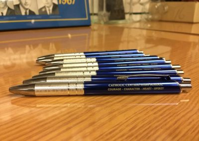 Pens_Made some cool gear (including these pens) for Catholic Central to pass out at an upcoming conference they are attending.